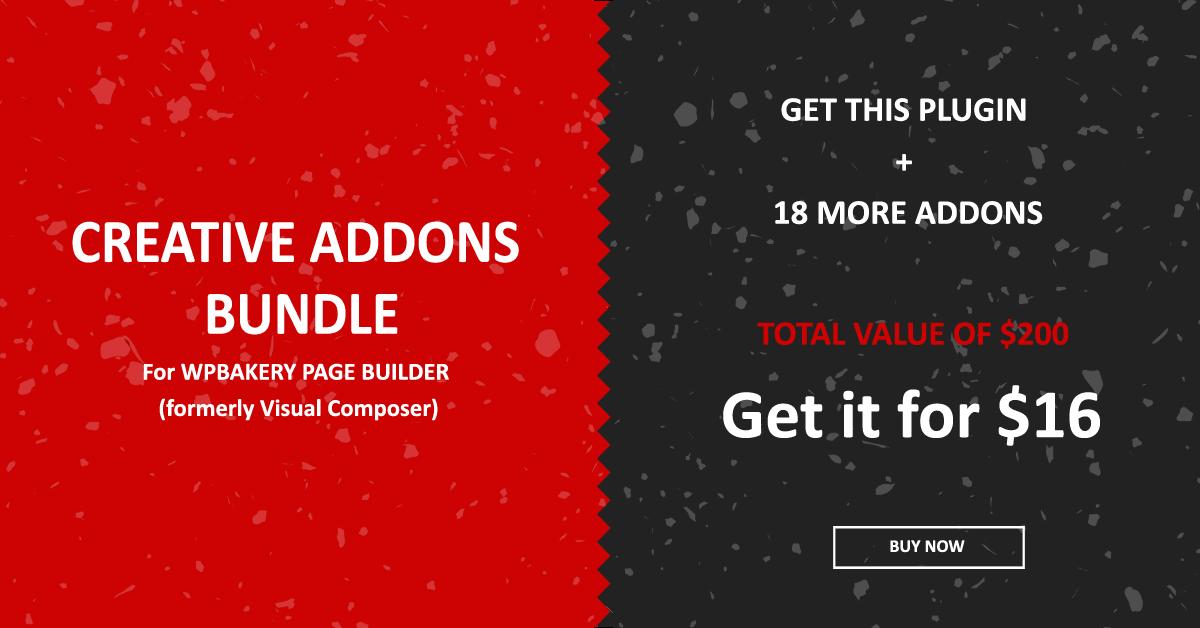 Social Icons Visual Composer Addon - 1